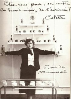 Colette opens her beauty salon. Photography Projects, Art Photography, Nobel Prize In Literature, La Rive, Soul On Fire, Portraits, Its A Wonderful Life, Vintage Glamour, Women In History