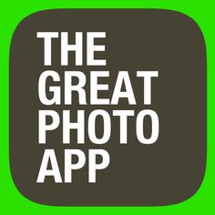 The Great Photo App for the iPhone / iPod Touch / iPad for FREE