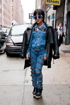 7 fashion rules you can totally break now. Read more here: http://www.mamamia.com.au/style/double-denim-and-fashion-rules-to-break/