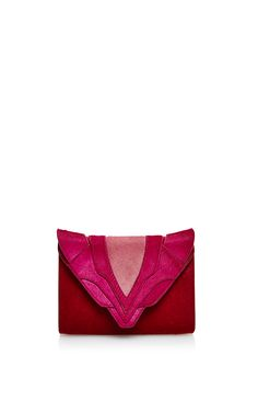 Rose Felina Hair Calf Crossbody Bag by Elena Ghisellini for Preorder on Moda Operandi