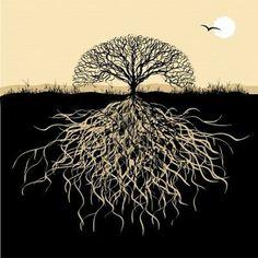 Tree Tattoo Design.