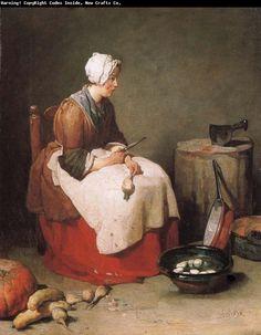 cuisinière  Jean Baptiste Simeon Chardin