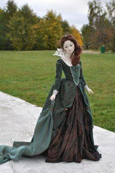 Art porcelain doll Adriana