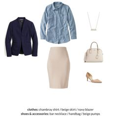The Workwear Capsule Wardrobe - Spring 2018 - Outfit 32