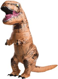 Surprise your fellow Chris Pratt fans by inflating this blowup dinosaur costume at a Jurassic World matinee or at a backyard barbecue so you can eat all the ribs in sight! This dinosaur costume is the closest approximation of a reanimated Tyrannosaurus Rex outside of a movie screen or history museum!