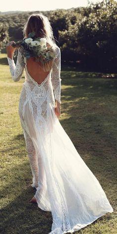 Bohemian Lace Wedding Dresses from Grace Loves Lace | unique wedding gowns