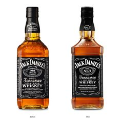 Jack Daniel's redesigned glass