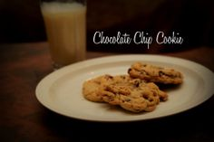 Chocolate Chip Cookie #recipe #dessert #baking