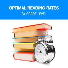 Optimal Silent & Oral Reading Rates By Grade Level