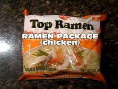 Fried Ramen - Cheap and tasty!