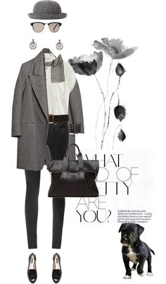"""""""Eminence Gris"""" by pensivepeacock ❤ liked on Polyvore"""