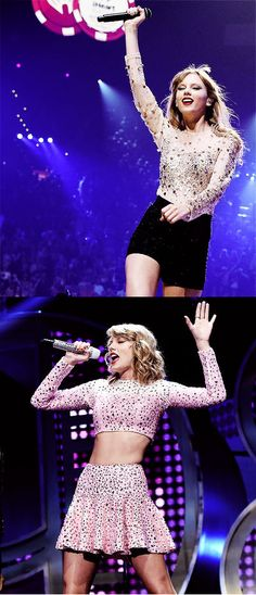 Taylor Swift at the iHeart Radio Festival 2012 + 2014