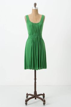 Love the woven detail on this dress from Anthropologie.
