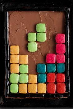 Pinterest  The Worlds Catalog Of Ideas - Tetris birthday cake