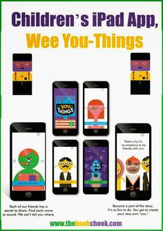 The Book Chook: Children's iPad App, Wee You-Things