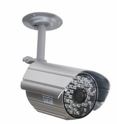 VideoSecu Day Night Audio Video Outdoor Bullet Security Camera 520TVL High Resolution Built-in Micro
