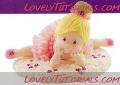 МК как слепить волосы/парик для куклы -How to Make a Doll Wig / Doll Hair - Page 17 - Мастер-классы по украшению тортов Cake Decorating Tutorials (How To's) Tortas Paso a Paso