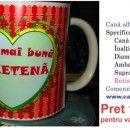 Cea mai buna PRIETENA Mugs, Canning, Tableware, Dinnerware, Mug, Dishes, Cups, Conservation, Porcelain Ceramics