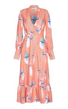 0097522e1c6 Ilaria Crepe Dress by BORGO DE NOR for Preorder on Moda Operandi Crepe Dress