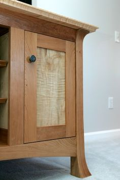 Shakashima Media Cabinet - Reader's Gallery - Fine Woodworking