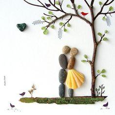 rock and pebble art 8