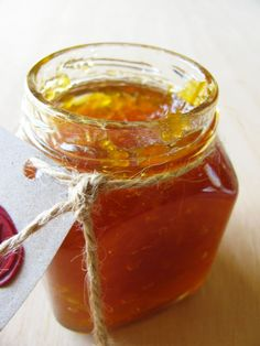 whiskey, carrot and ginger marmalade