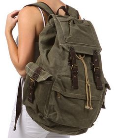 8ac46ceffd4 Vintage Military Backpack   Wishlist   Pinterest   Backpacks ...