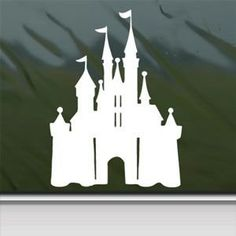 Disney White Sticker Decal Castle Magic Kingdom White Car Window Wall Macbook Notebook Laptop Sticker Decal faststicker http://www.amazon.com/dp/B00GOS7M6C/ref=cm_sw_r_pi_dp_jeUOub1JHM9RZ