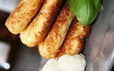 Květákové placičky na másle - LC Sausage, French Toast, Low Carb, Breakfast, Fit, Morning Coffee, Shape, Sausages, Morning Breakfast