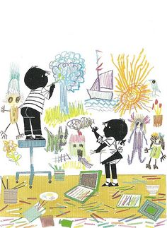 Jip & Janneke, illustrated by Fiep Westendorp