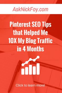 Learn how to use Pinterest strategically to grow you blog traffic. Here are tips I used to grow my website traffic in a few months of joining Pinterest... (blogging tips for beginners, online business lessons new bloggers, pinterest traffic tips, email list growth, email list tips, website design ideas, website design templates, affiliate marketing tips, selling digital products, blogger resources, website traffic tips, blogging mistakes to avoid)