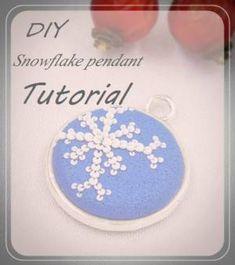snowflake tutorial - The Amaranthine Girl