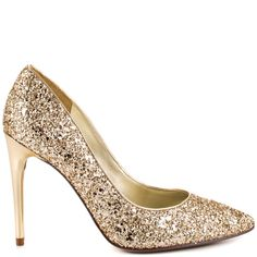 4 Inch Gold Heels