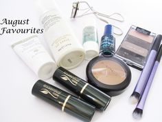 August #Beauty Favourites  #makeup #skincare