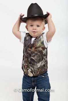 camo tux | Love the camo available at Tuxedo Junction! | Ringbearers & Flower gi ...