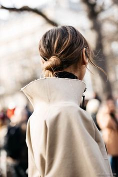 How to wear a high neck coat