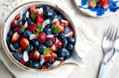 Berry & Coconut Fruit Salad | Vegetable Gohan