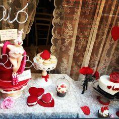 la nostra #vetrina Sanvalentinosa #dolcelab #firenze #love