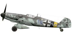 Messerschmitt Bf 109G-14/R3 Erla 16./JG5 Blue (14+~) Rygge Norway March 1945.