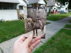 People Are Reliving Family Memories by Superimposing Photos of the Past in the Present - My Modern Met