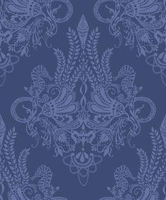 Vallila Syvameri Blue  Wallpaper