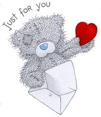 Tatty Teddy Bear - Just For You