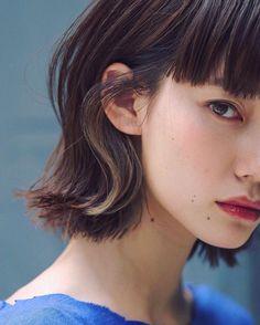 Girl Haircuts, Little Girl Hairstyles, Bob Hairstyles, Short Hair Trends, Short Hair Styles, Hair Arrange, Japanese Hairstyle, Medium Hair Cuts, Hair Photo