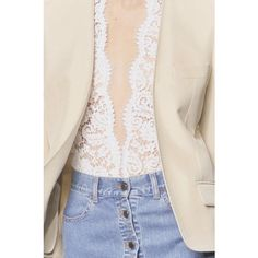 lace + denim