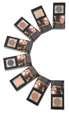 Semi-Permanent Eyebrow Make-Up  A revolutionary system that creates perfectly shaped eyebrows in just seconds. The powder is a super quality water resistant make-up that stays on until you remove it with waterproof make-up remover. Once applied, no need for touch-ups.