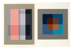 Josef Albers's artwork. Upward c1926.