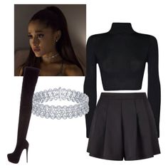 Dangerous Woman Tour outfit Ariana Grande by emersyndwyer