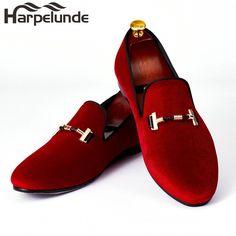 a7320b993e1 Men s Buckle Strap Velvet Loafers Dress Shoes Upper Material  VelvetToe  Shape  Round Toe Lining Material  Genuine LeatherLining-Genuine Leather Type   ...