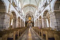 Inside the Our Lady Maria Cathedral, Ribe, Denmarks oldest surviving city, Jutland, Denmark, Scandinavia, Europe