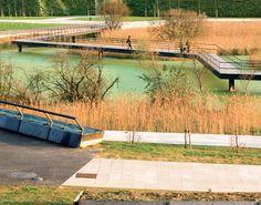 Batllé i Roig Arquitectes. Parque Atlántico en la Vaguada de las Llamas, Santander. Fotografía: Jorge Poo.    #tc_arquitectura   #architecture_publication  #spain_architecture